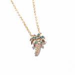 9ct Gold Baby Palm Tree Pendant - seol-gold