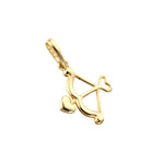 9ct gold arrow charm - seolgold