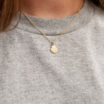 9ct Gold Shell Necklace - seol-gold