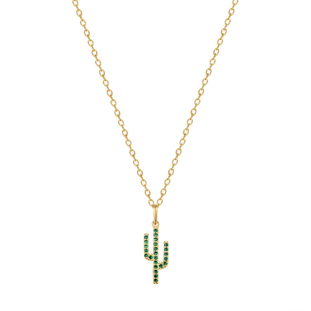 emerald necklace - seolgold
