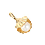 9ct Gold Pearl Shell Necklace