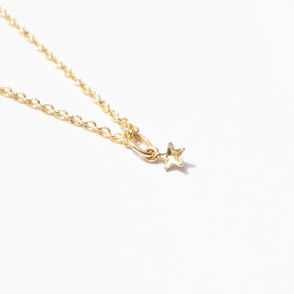 gold star charm - seol-gold