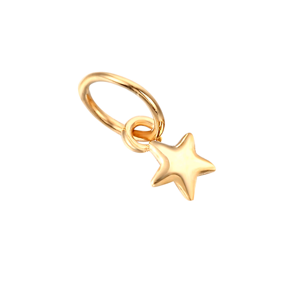 9ct Gold Tiny Star Charm