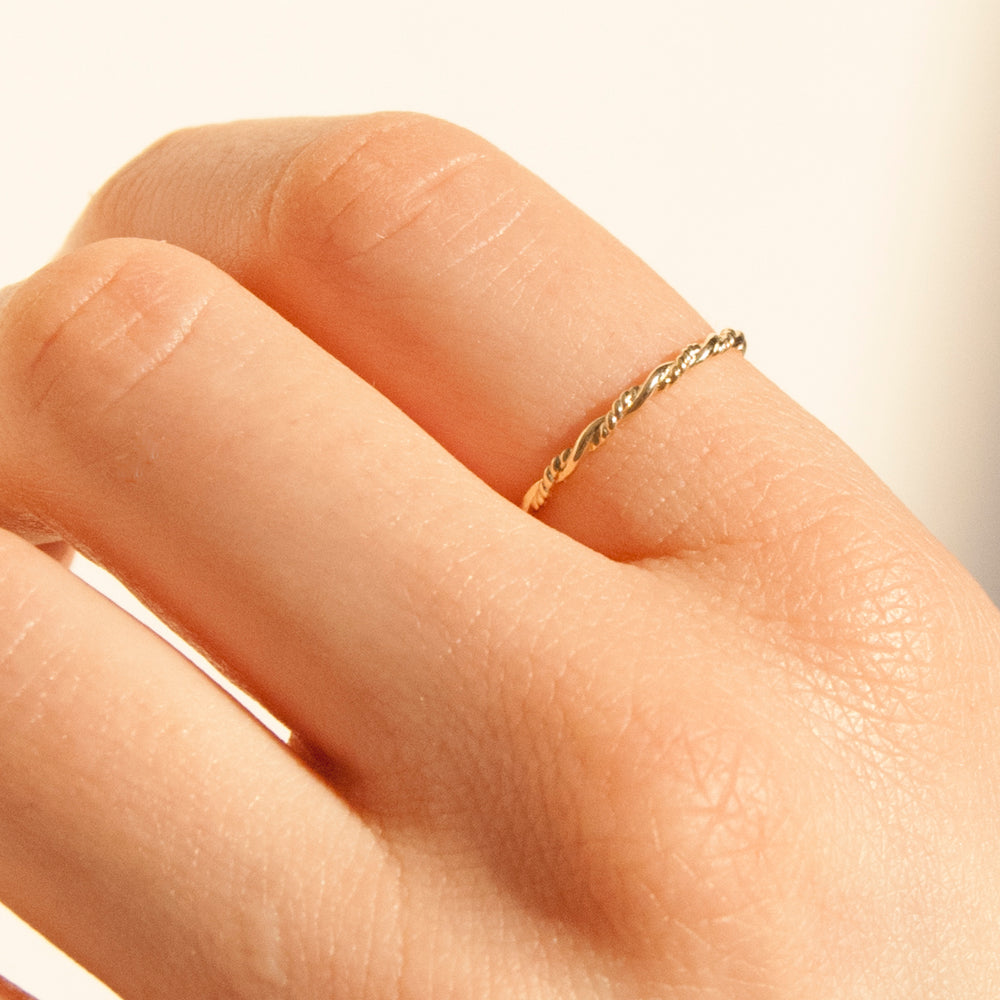 9k gold ring - seolgold