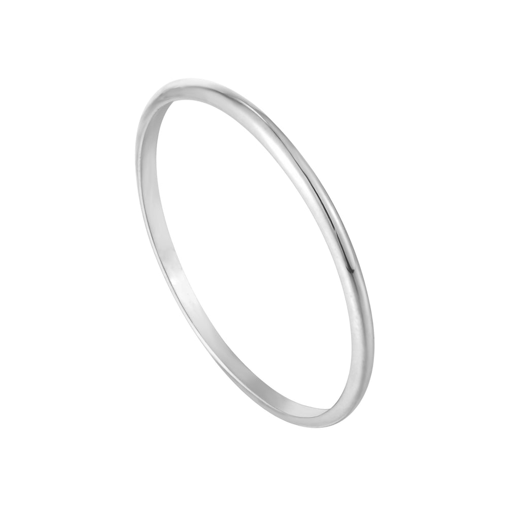 Silver Band Ring - seol-gold