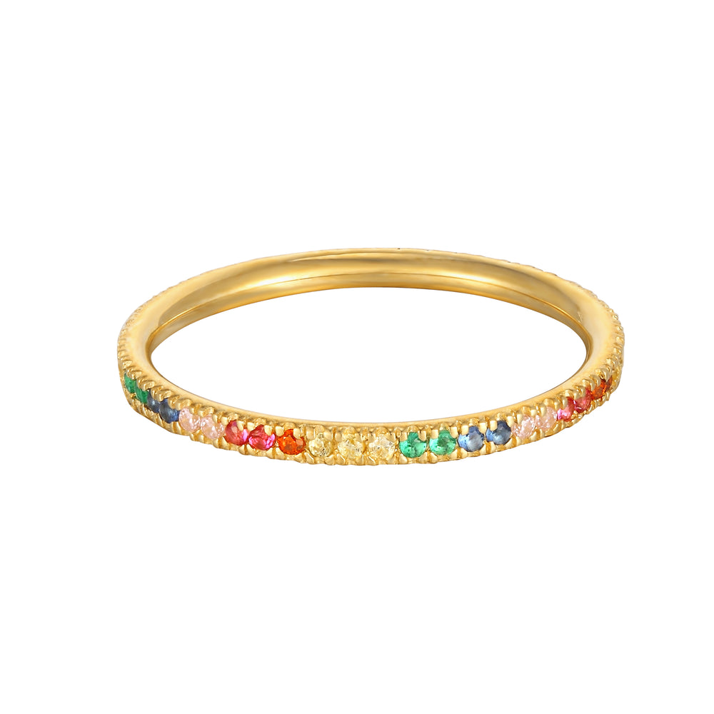9ct gold eternity ring - seolgold