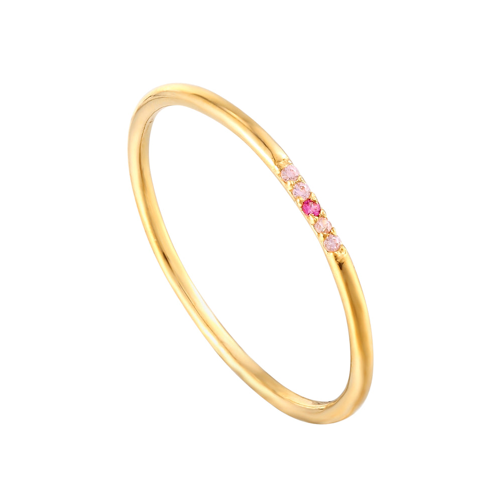 Ruby Ring - seol-gold