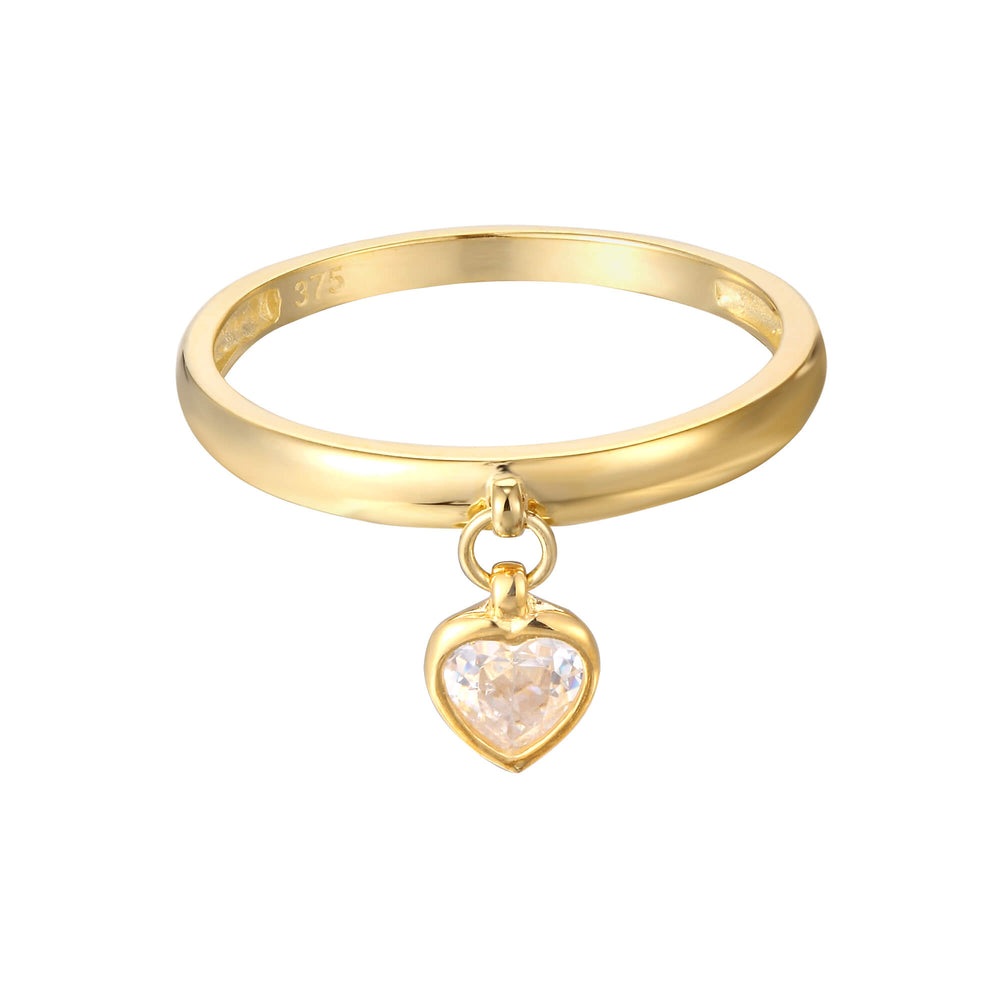 charm ring - seol gold