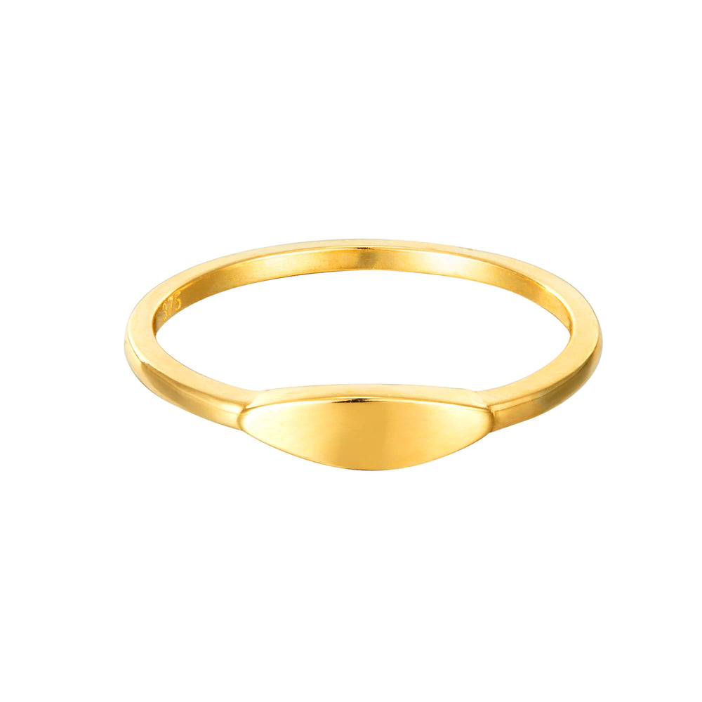 9ct Oval Ring