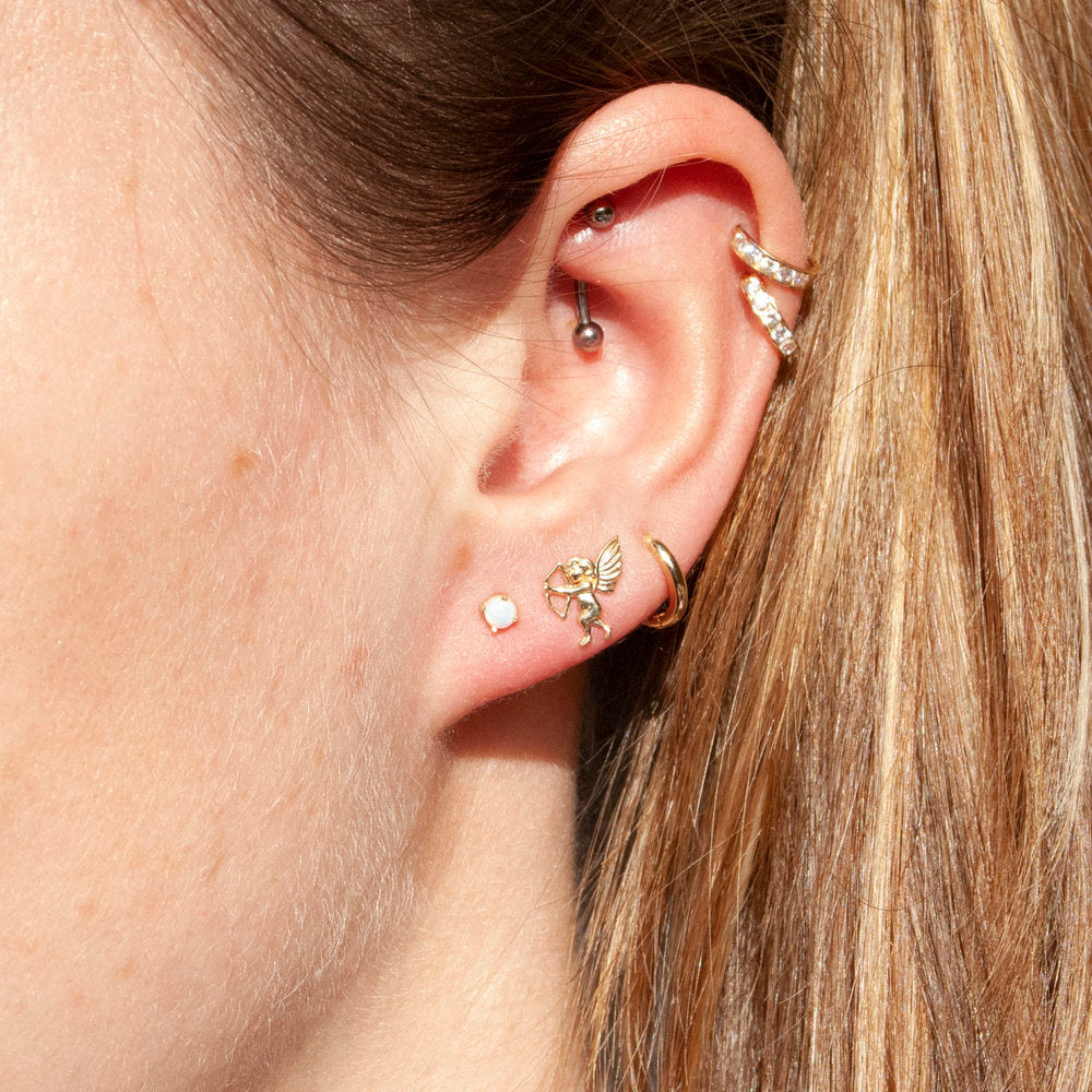 9ct Gold Stud Earring - seol-gold