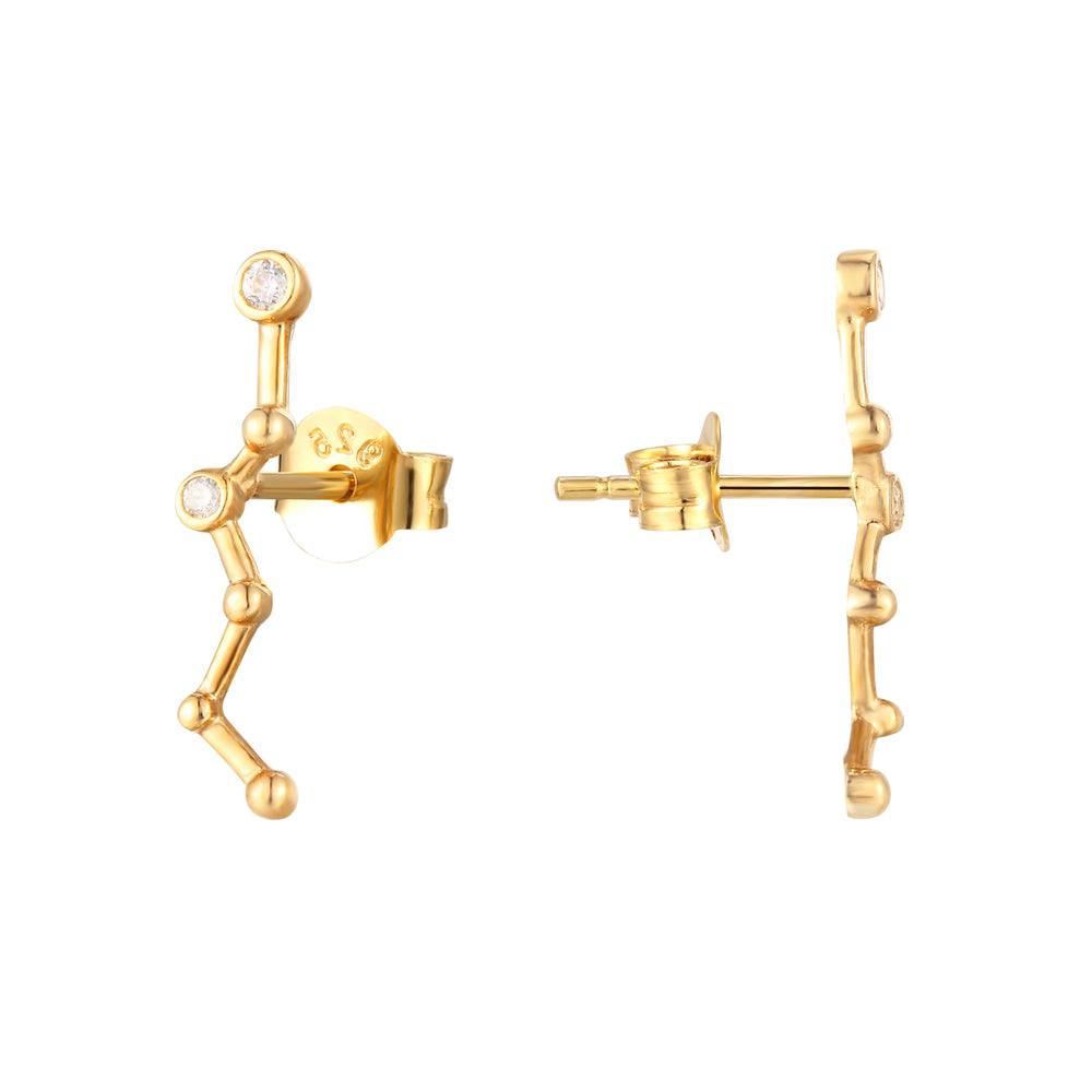 9ct gold climber earring - seolgold