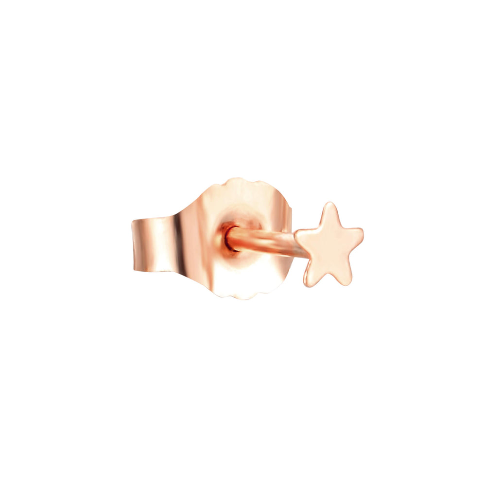 9ct Gold Tiny Star Studs