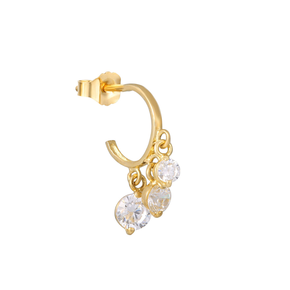 9ct Gold Earring - seol-gold