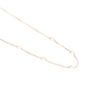9ct gold pearl beaded necklace - seol-gold