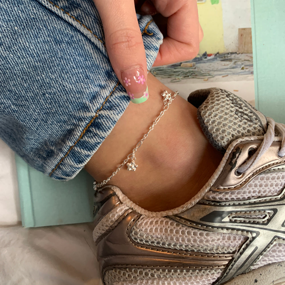 daisy anklet - seol gold