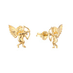 9ct Gold Star Studs - seol-gold