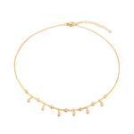 charm necklace- seol gold