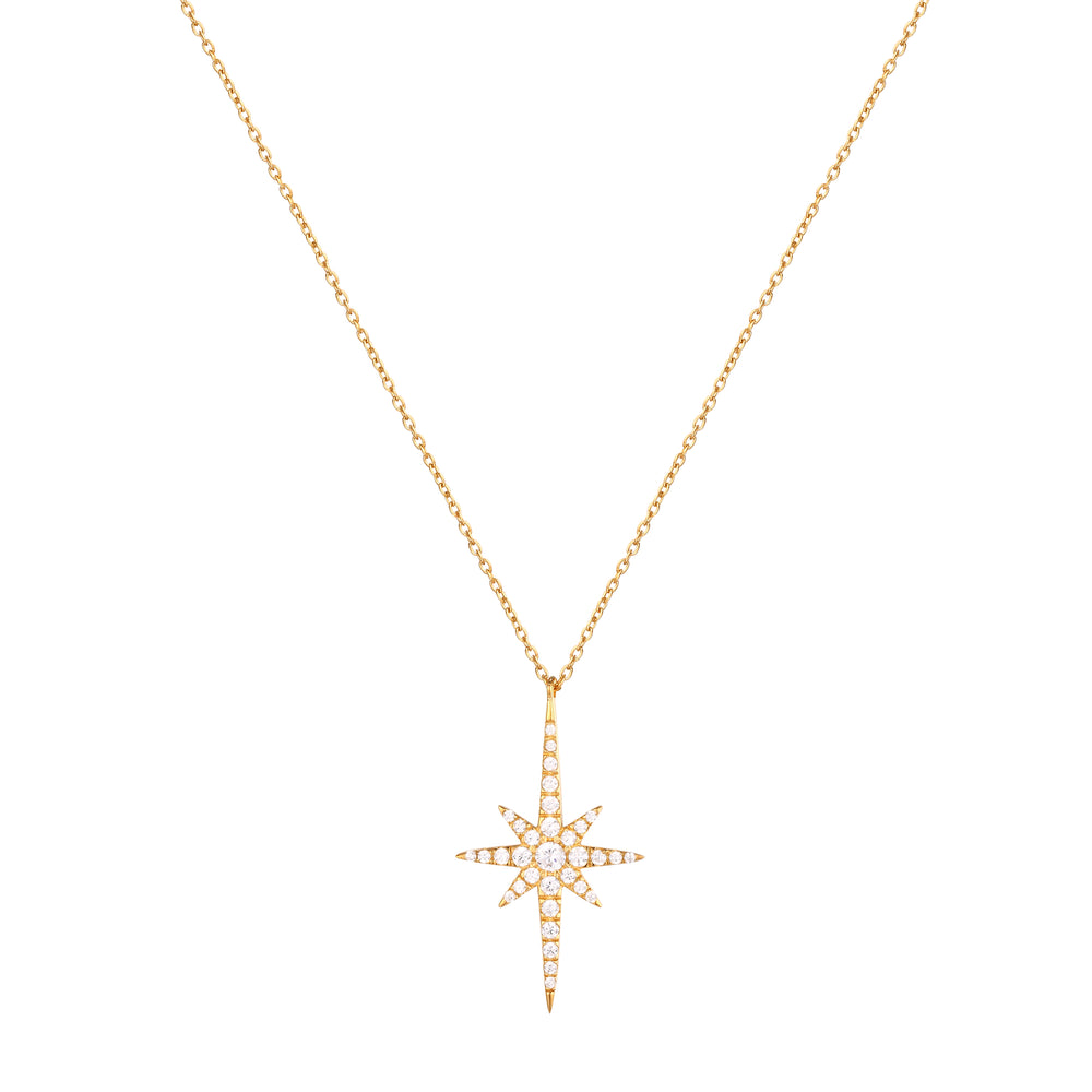 star necklace -seol gold