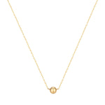 9ct Gold Dot Necklace