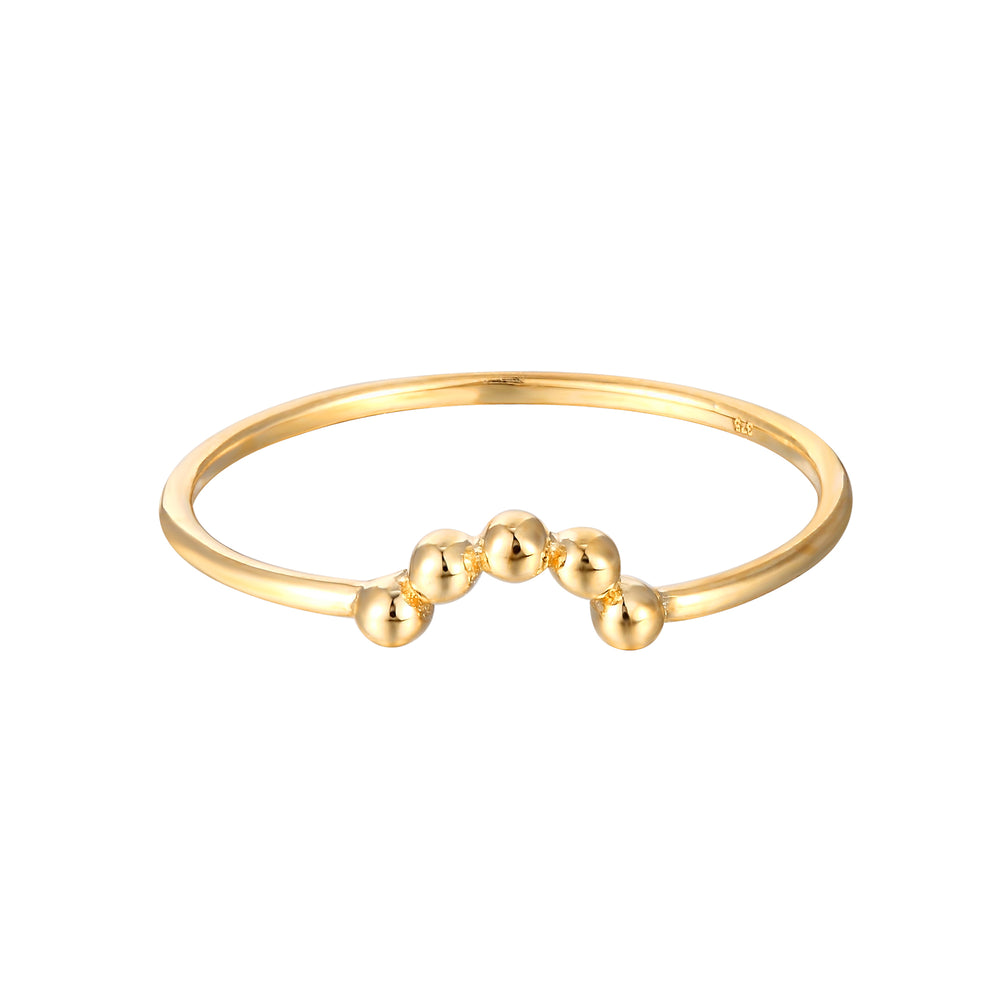 9ct gold stacking ring - seolgold