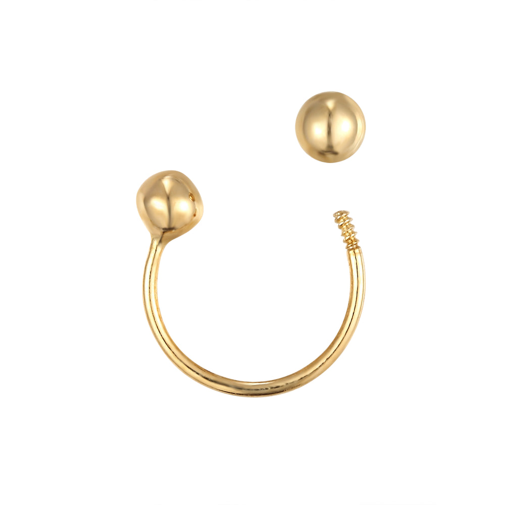 cartilage earring - seol-gold