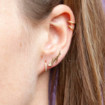 9ct Gold  'Angel' Stud Earrings - seol-gold
