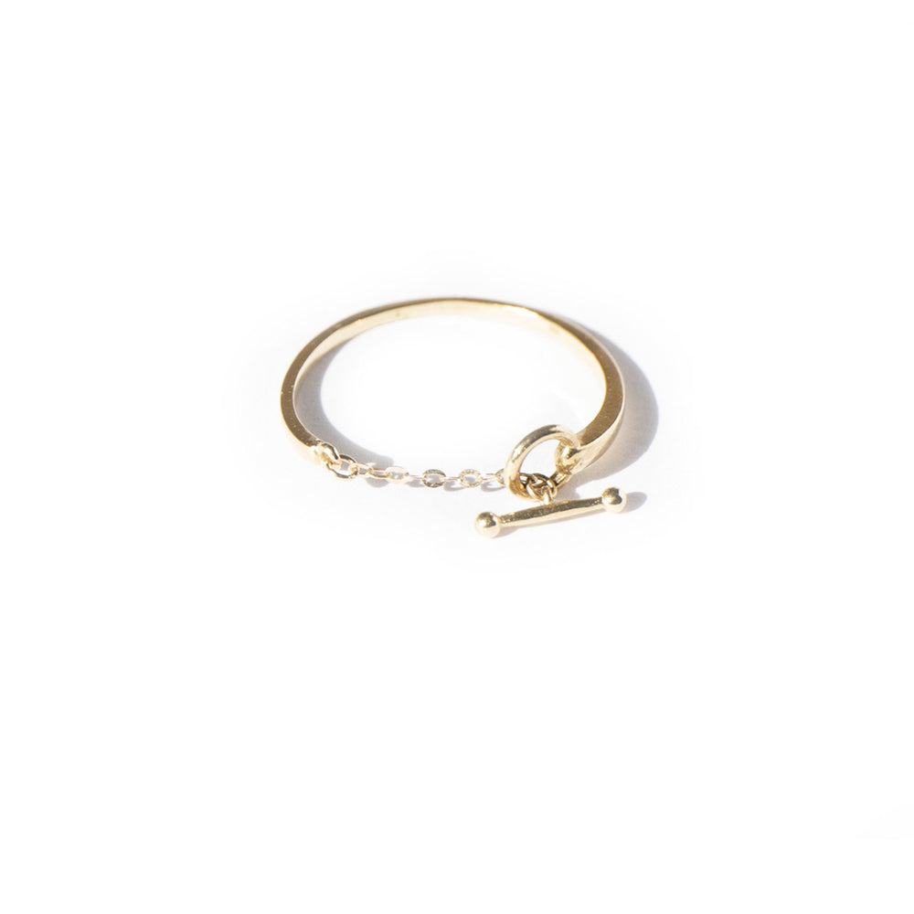 T-bar Ring - seol-gold