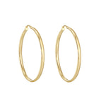 9ct gold hoop - seol gold