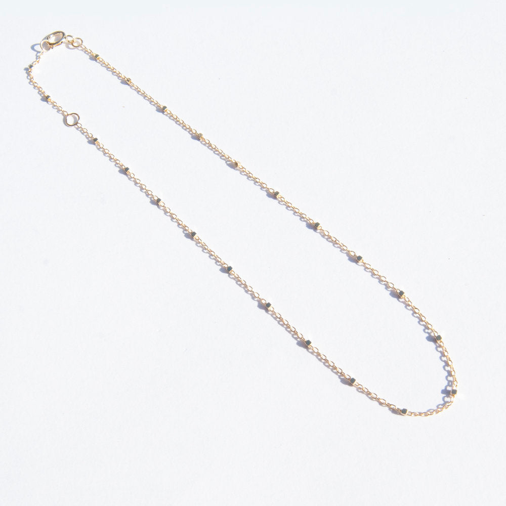9ct Gold Chain Anklet - seol-gold