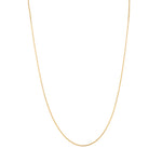 "9ct Gold Spiga 17"" Chain"