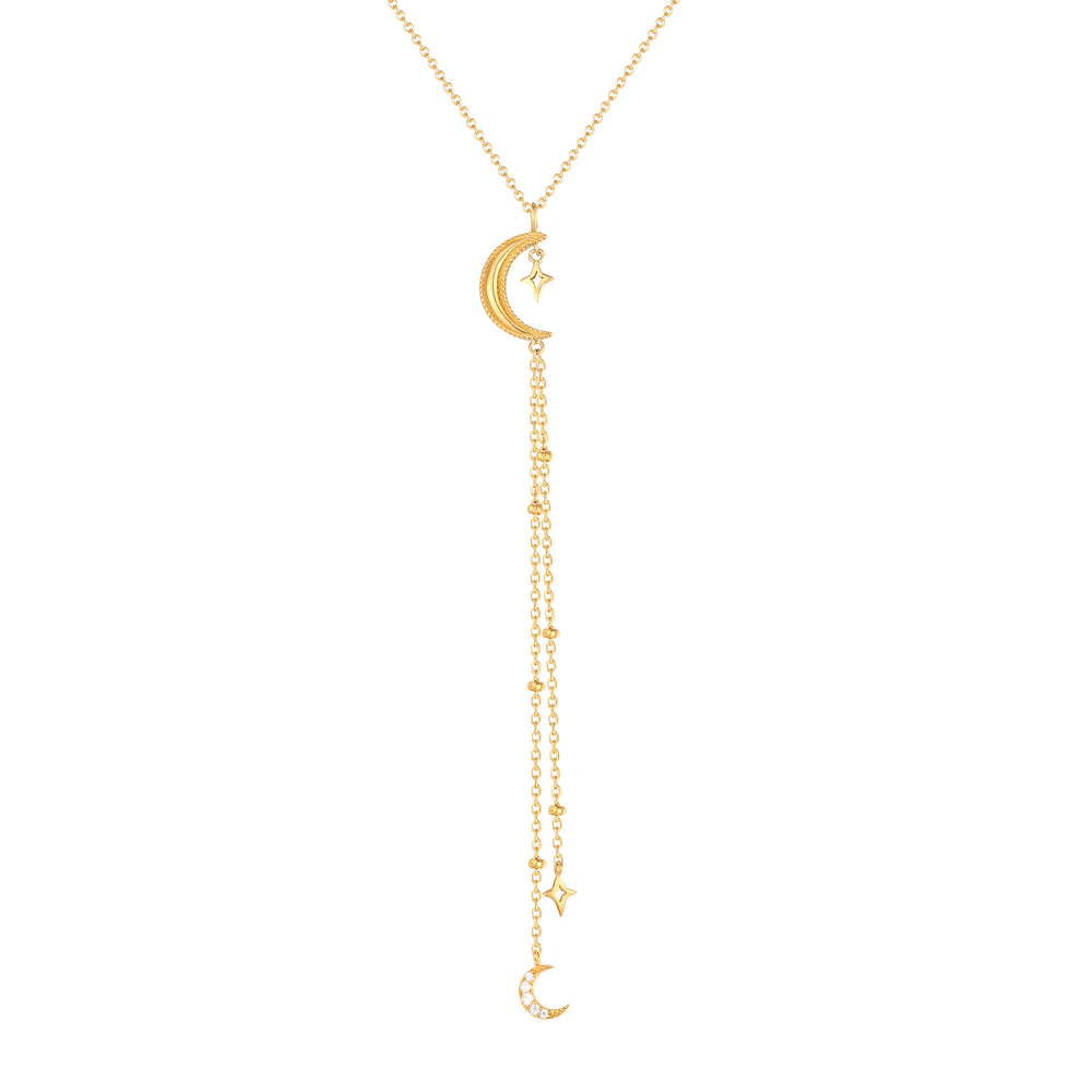 Cosmic Lariat Necklace
