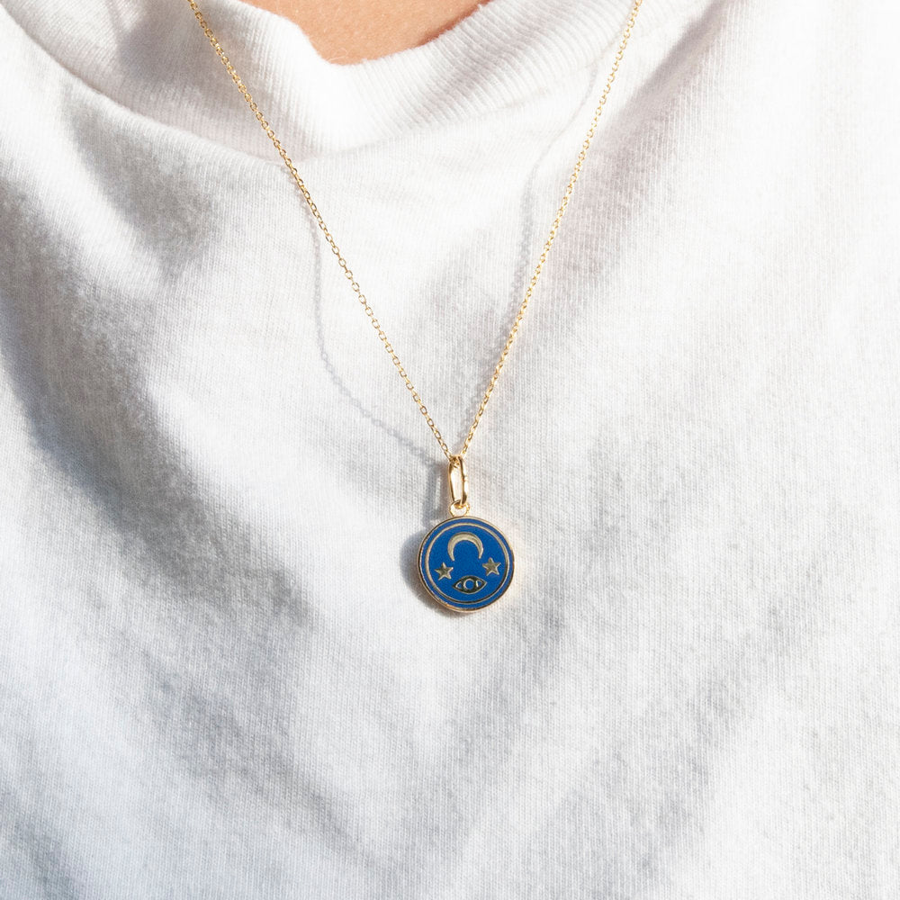 cosmic necklace - seol-gold