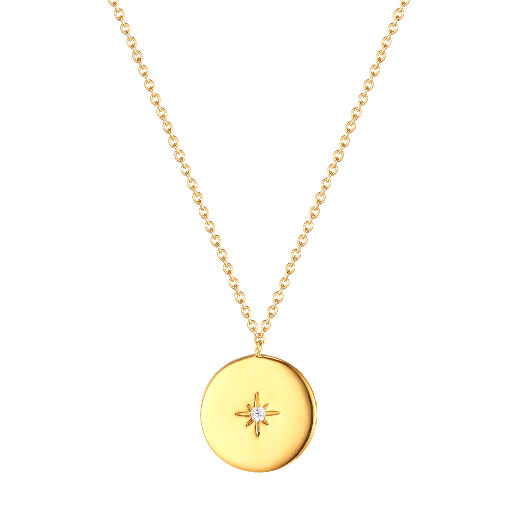 Star Medallion Necklace