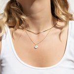 Mother of Pearl Necklace - seol-gold