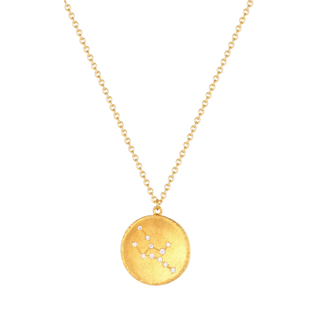 Constellation CZ Medallion