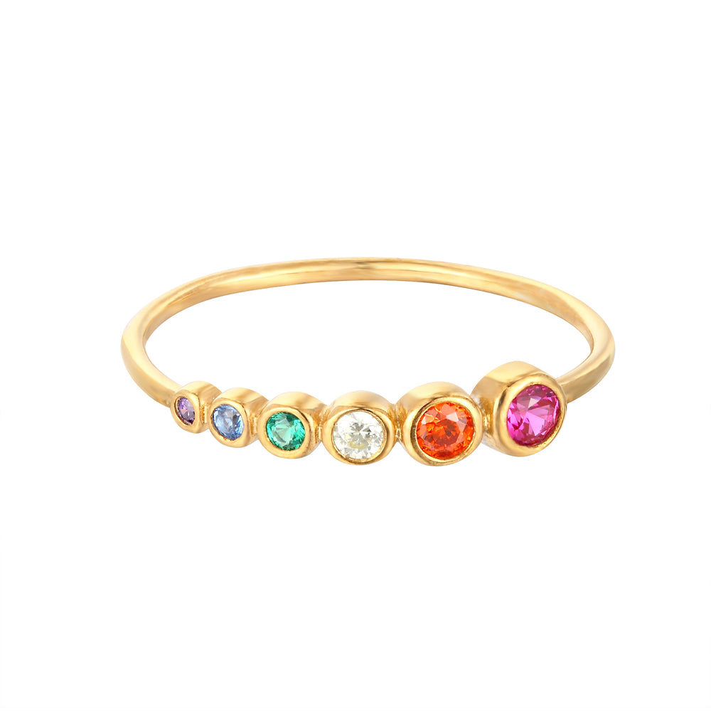 gold stacking ring - seol-gold