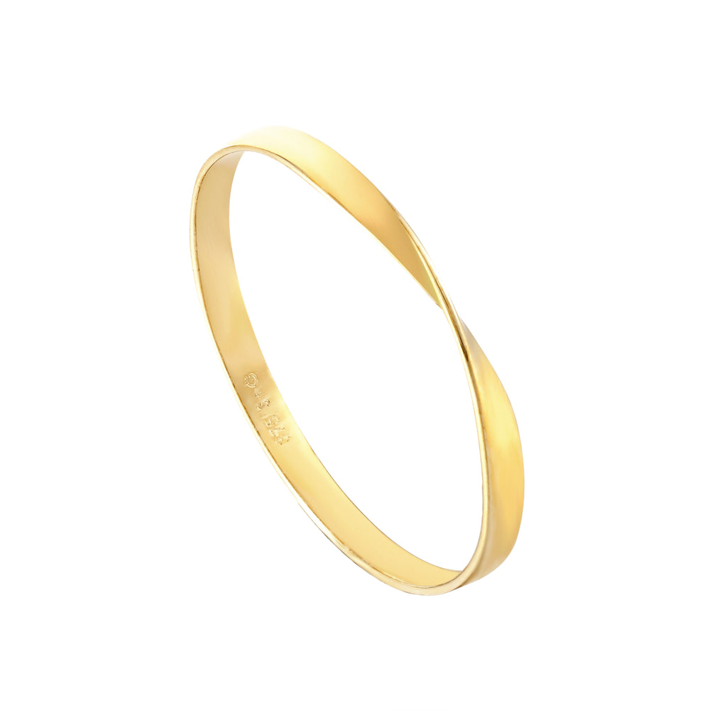 9ct Gold Twisted Band - seol-gold