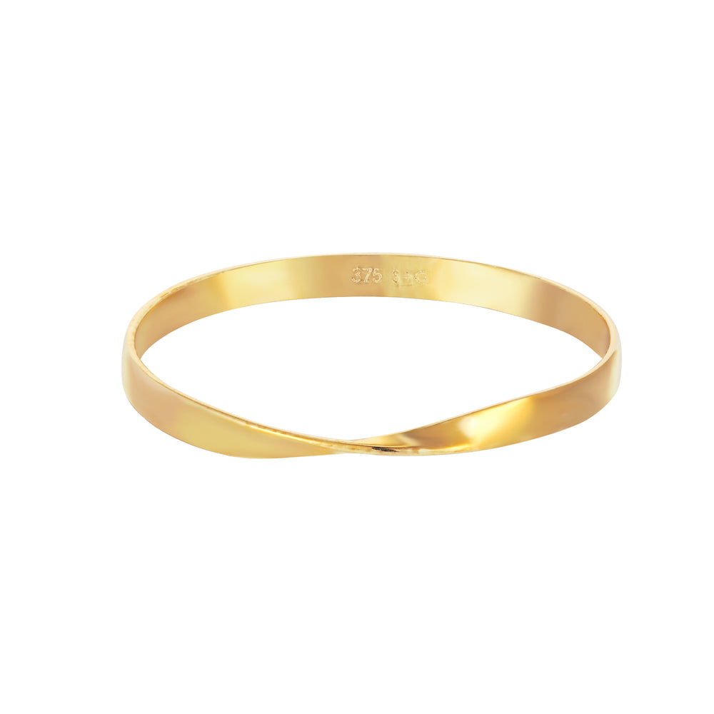 gold skinny stacking ring - seolgold