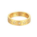 Star Studded Constellation Ring
