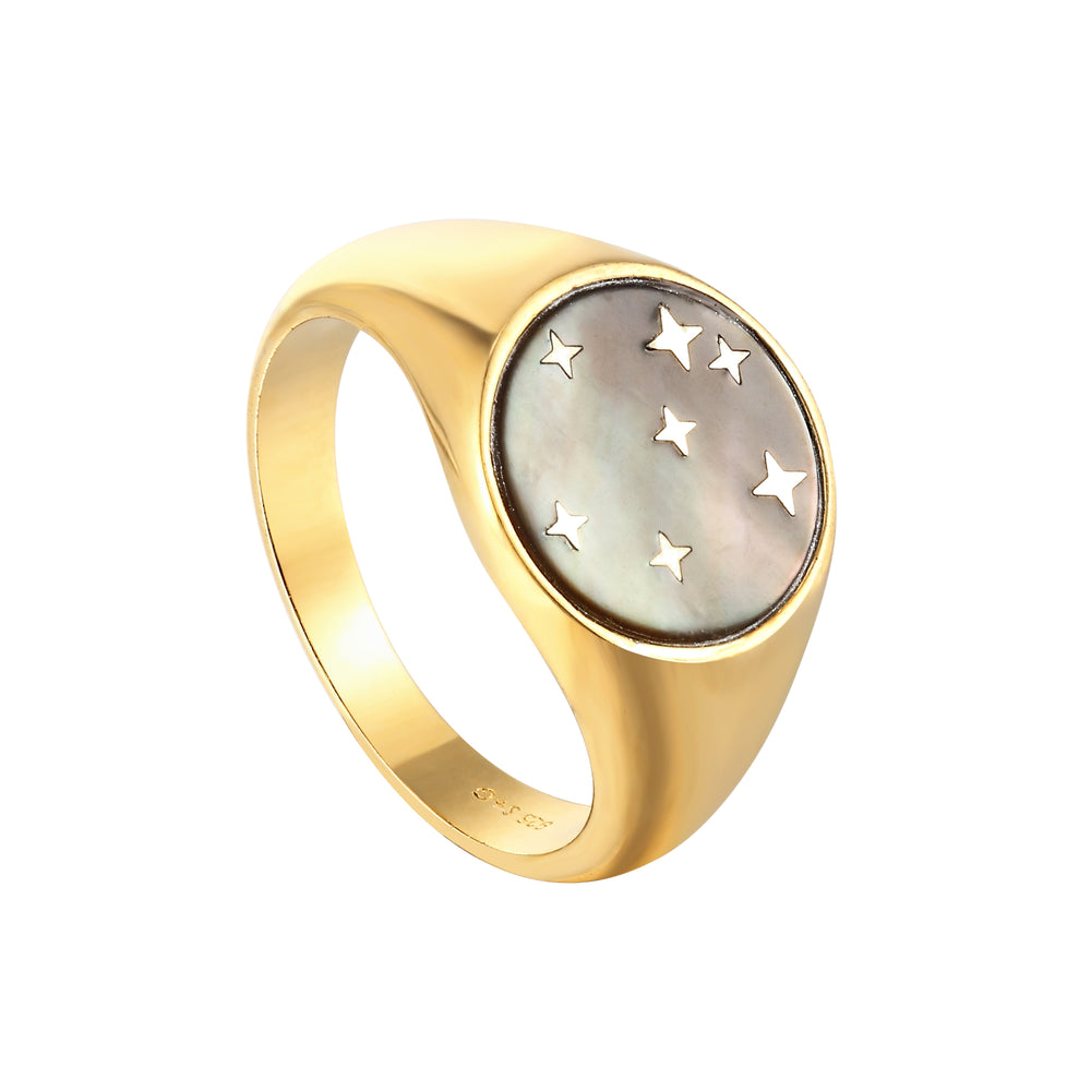 Gold Signet Ring - seol-gold