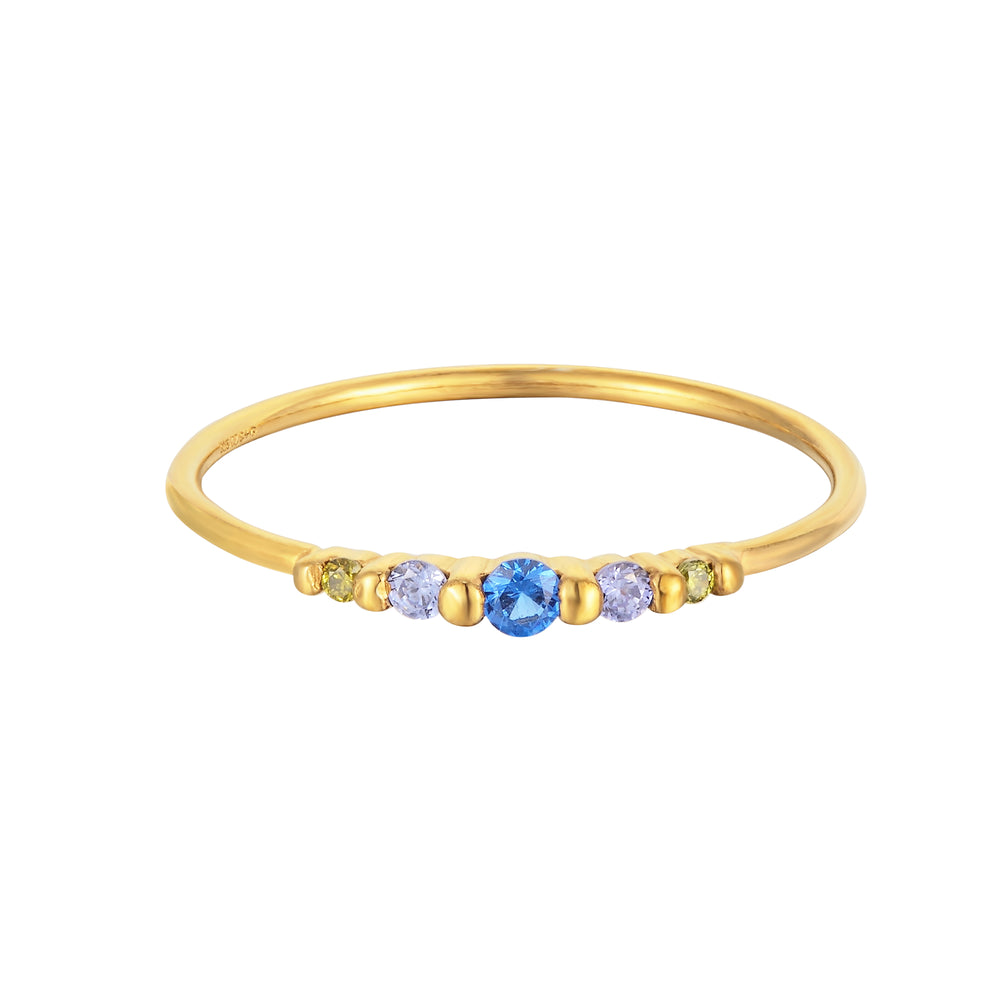 sapphire stone ring - seolgold