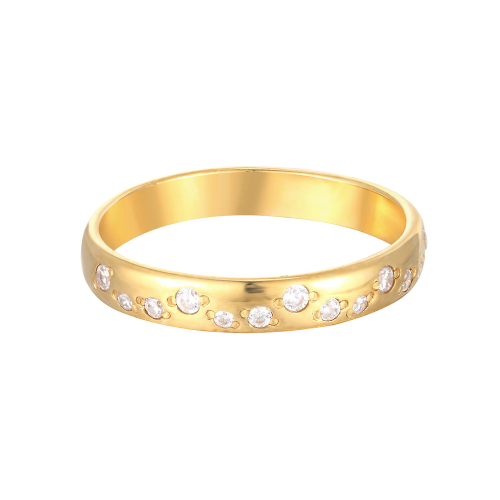Constellation CZ Ring - seol-gold