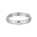 silver Eternity ring - seol-gold