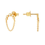 Halo Studs - seol-gold