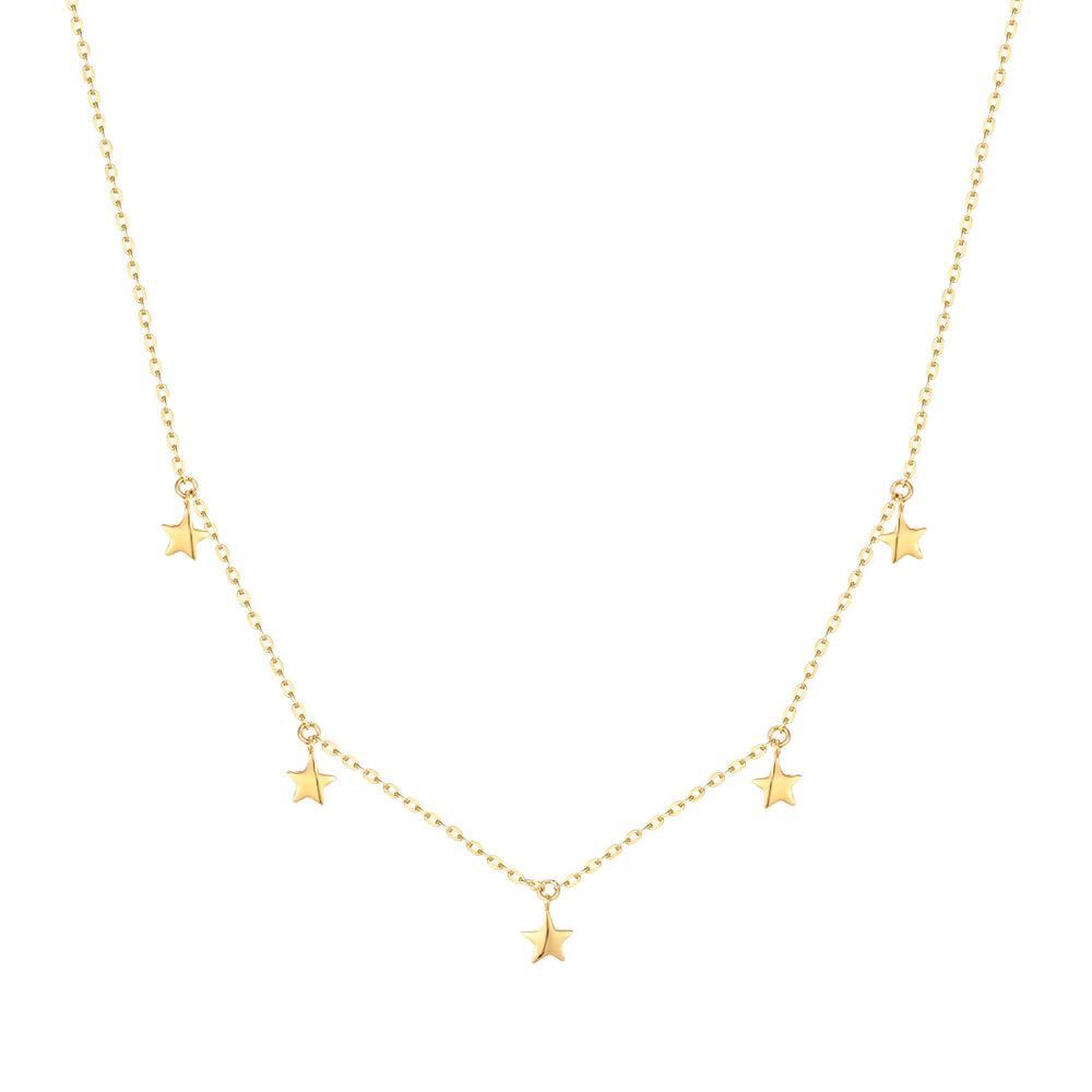 9ct Star Charm Necklace