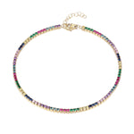 rainbow anklet -seol gold