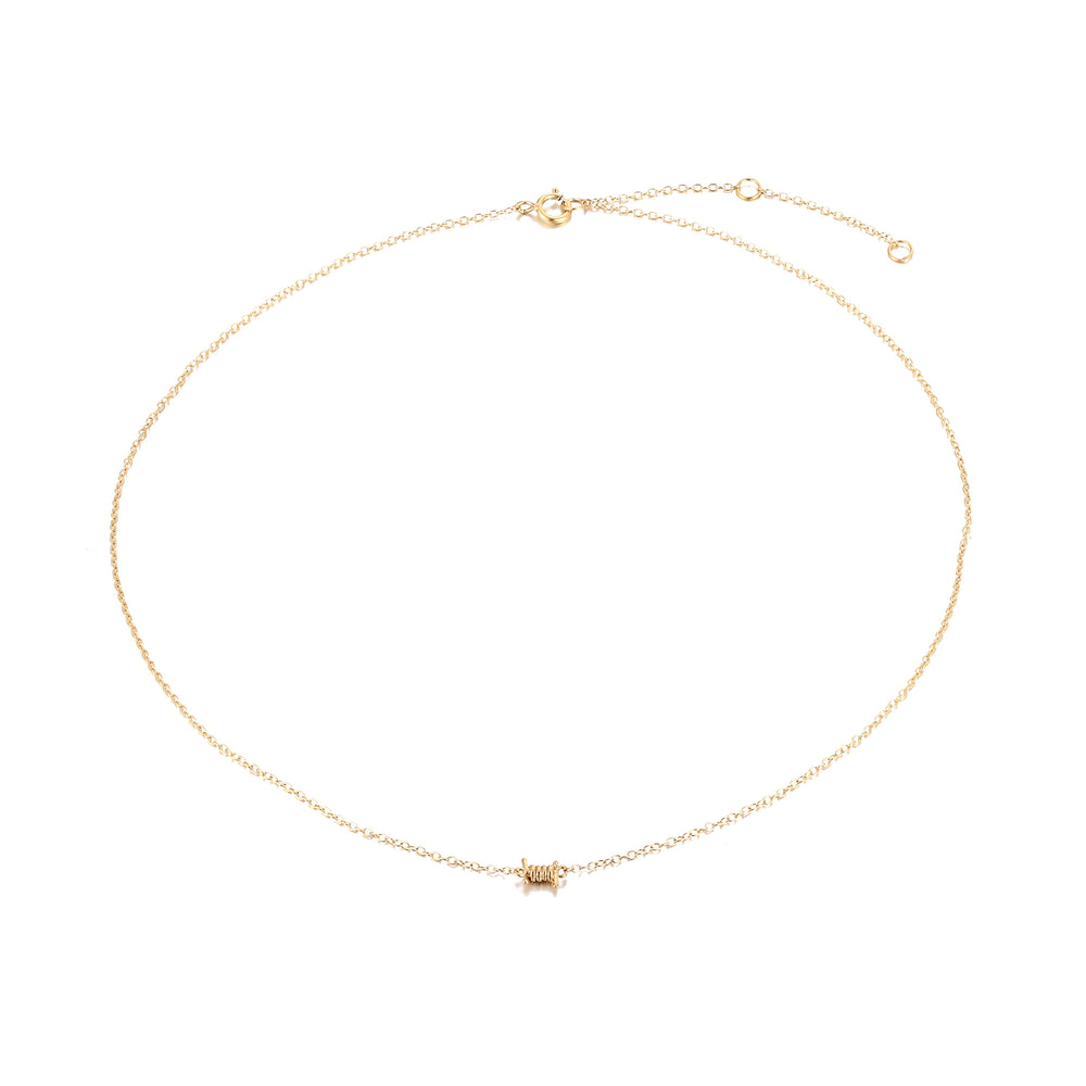 Gold Necklace - seol-gold