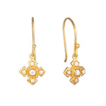 drop hook earring - seolgold