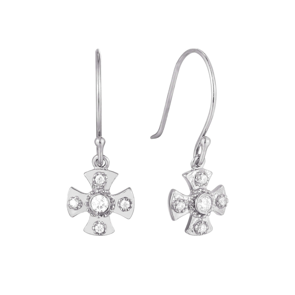 silver earrings - seol-gold