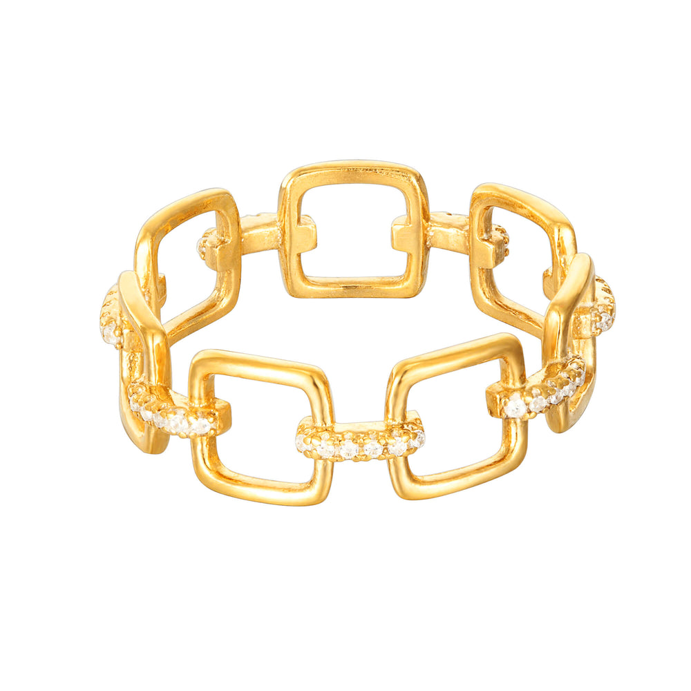 Buckle Chain Ring
